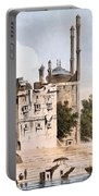 Benares On The Ganges Portable Battery Charger by William Hodges