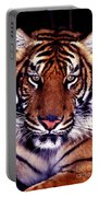 Bengal Tiger Eye To Eye Portable Battery Charger