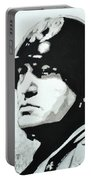 Benito Mussolini Portable Battery Charger