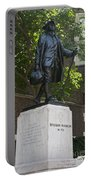 Benjamin Franklin Statue University Of Pennsylvania Portable Battery Charger