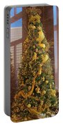 Benson Towers - Fleur De Lis Tree - New Orleans La Portable Battery Charger