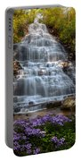 Benton Falls In Spring Portable Battery Charger
