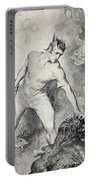 Beowulf Shears Off The Head Of Grendel Portable Battery Charger by John Henry Frederick Bacon