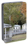 Berkeley Springs Bandstand In West Virginia Portable Battery Charger