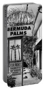 Bermuda Palms Bw Palm Springs Portable Battery Charger