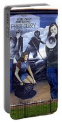 Bernadette Devlin Mural Portable Battery Charger