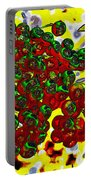 Berries Art Portable Battery Charger