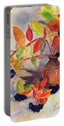 Berry Harvest Still Life Portable Battery Charger