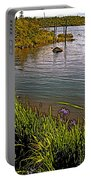 Berry Hill Pond In Gros Morne Np-nl Portable Battery Charger
