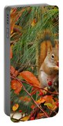 Berry Loving Squirrel Portable Battery Charger