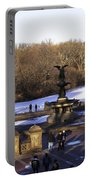 Bethesda Fountain 2013 - Central Park - Nyc Portable Battery Charger