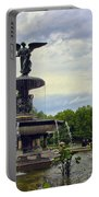 Bethesda Fountain II Portable Battery Charger