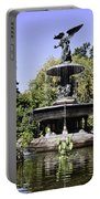Bethesda Fountain Iv - Central Park Portable Battery Charger