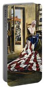 Betsy Ross (1752-1836) Portable Battery Charger