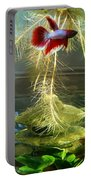 Betta Fish Moby Dick Portable Battery Charger