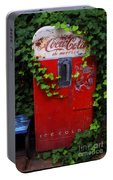 Austin Texas - Coca Cola Vending Machine - Luther Fine Art Portable Battery Charger