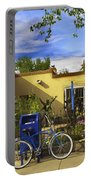 Bicycle In Santa Fe Portable Battery Charger