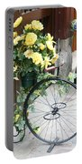 Bicycle Plant Holder Portable Battery Charger