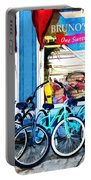 Bicycles And Chocolate Portable Battery Charger