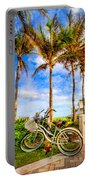 Bicycles Under The Palms Portable Battery Charger