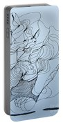 Biding Time - Doodle Portable Battery Charger
