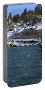 Big Bear Dam - California Portable Battery Charger