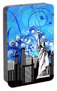 Big City Blues 4 Liberty Portable Battery Charger