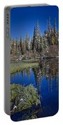 Big Cottonwood Canyon  Portable Battery Charger by Richard Cheski