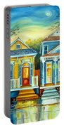 Big Easy Moon Portable Battery Charger by Diane Millsap