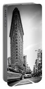 Big In The Big Apple - Bw Portable Battery Charger