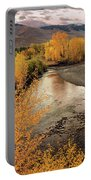 Big Lost River In Autumn Portable Battery Charger