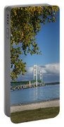 Big Mackinac Bridge 68 Portable Battery Charger