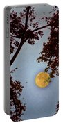 Big Old Autumn Moon Portable Battery Charger