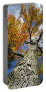 Big Orange Maple Tree Portable Battery Charger