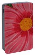 Big Pink Flower - Florist - Gardener Portable Battery Charger