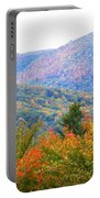 Big Pisgah Mountain In The Fall Portable Battery Charger