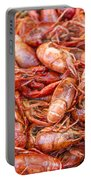 Big Prawns In Market Portable Battery Charger