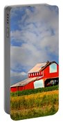 Big Red Barn Portable Battery Charger
