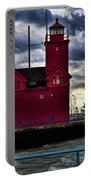 Big Red Holland Michigan Portable Battery Charger