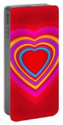 Big Red Love Portable Battery Charger