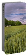 Big Sky Montana Wheat Field  Portable Battery Charger