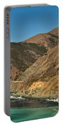 Big Sur And The Bridge Portable Battery Charger by Adam Jewell