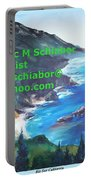 Big Sur Califorina Portable Battery Charger