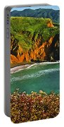 Big Sur California Coastline Portable Battery Charger