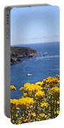 Big Sur Loves Yellow By Diana Sainz Portable Battery Charger