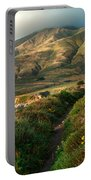 Big Sur Trail At Soberanes Point Portable Battery Charger
