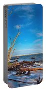 Big Talbot Island Beach Portable Battery Charger
