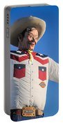 Big Tex - State Fair Of Texas - No. 2 By D. Perry Lawrence Portable Battery Charger