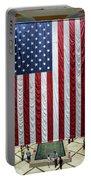 Big Usa Flag 2 Portable Battery Charger