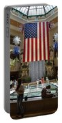 Big Usa Flag 3 Portable Battery Charger